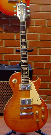 Grass Roots by ESP G-LP-50S QM Les Paul Standard