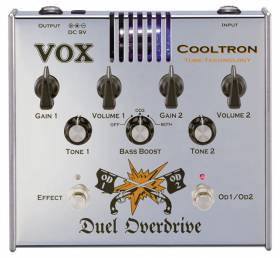 VOX COOLTRON DUEL OVERDRIVE VOX Cooltron Duel Overdrive