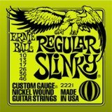 Cтруны ErnieBall Hybrid slinky, Regular slinky made in USA. В наличии в Питере  ErnieBall  regular