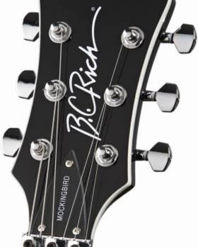B.C.Rich Pro X Custom Mockingbird Gloss Black