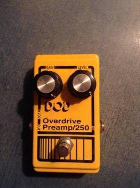 overdrive preamp DOD 250