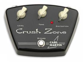 Overdrive и Distortion Carl Martin Crush Zone