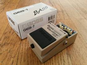 Boss GEB-7 Bass Equalizer (2015 г.) BOSS GEB-7 BASS EQUALIZER