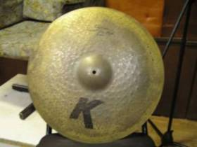 Zildjian K custom left side ride 20