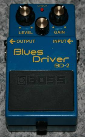 Овердрайв (Overdrive) BOSS BD-2 Blues Driver