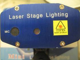 Мини лазер Laser Stage Lighting LSL LSL