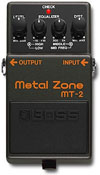 Distortion Boss Metal Zone(MT-2)
