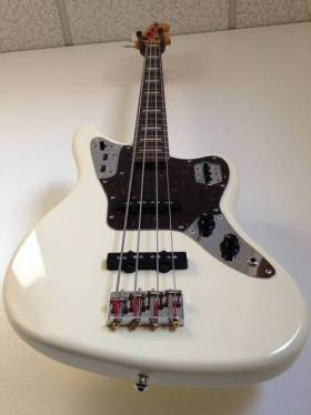 Fender Jaguar Bass Olympic White