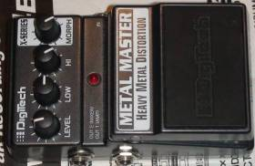 distortion Digitech XMM METAL MASTER
