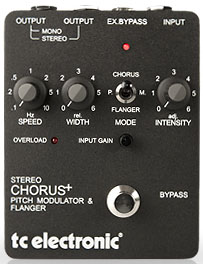 SCf chorus-flanger-pitch TC Electronic SCF (Stereo Chorus Flanger)