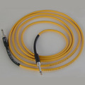 Кабель гитарный Analysis-Plus Yellow Flex Oval Silent Plug - Silent Plug 10 ft/3 m